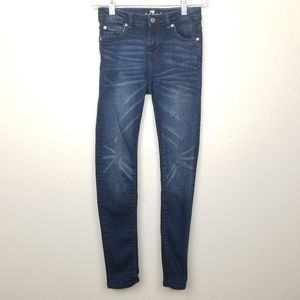 7 for all mankind | skinny | highlighted fading